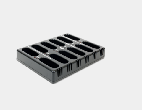 CHG 3512 12 bay charger for FM transmitters and receivers