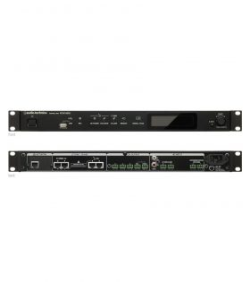 ATUC-50CU Discussion System Control Unit front and rear view