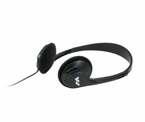 HED 021 Mono Dual-Ear Folding Headphones
