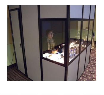 Simultaneous Interpretation Booths