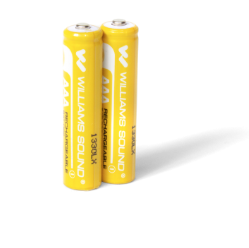 BAT 022-2 AAA Rechargeable NiMH Batteries 2 pack