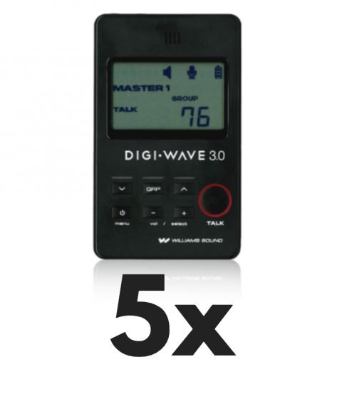 DLT 300 Digital Transceiver 5x