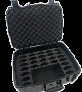 CCS 056 26 open case with 26 slot foam insert