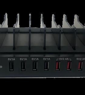 CHG 408 8 slot charger rear view