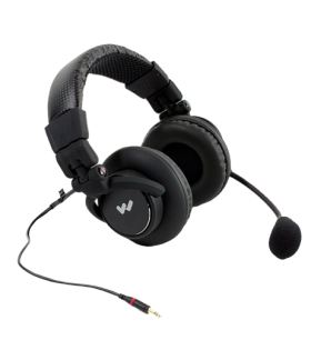 MIC 158 Dual-Muff Headset Microphone with TRRS 3.5mm plug