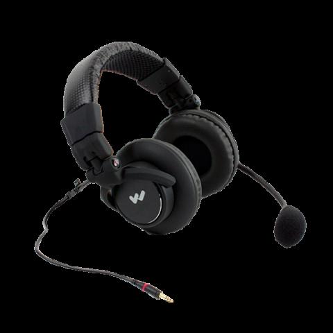 MIC 158 Dual-Muff Headset Microphone with TRRS 3.5mm plug