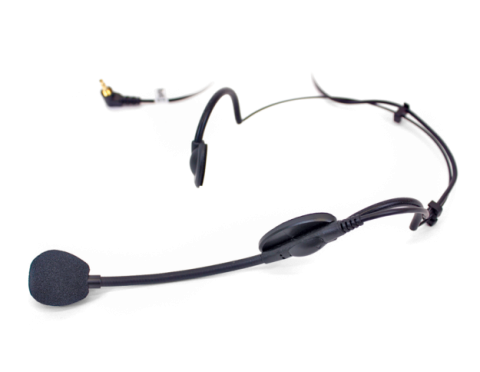 mic 100 rear-wear headset microphone with 3.5mm jack
