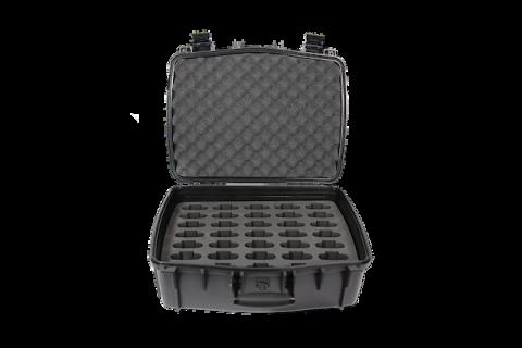 CCS 056 35 Inside of case with 35 slot foam insert