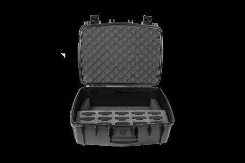 CCS 056 S Inside of case with 15 slot foam insert