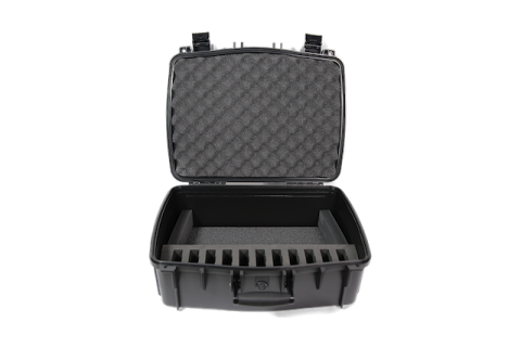 CCS 056 DW11 Inside of case and 11 slot foam insert