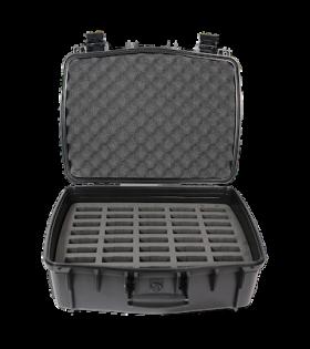 CCS 056 DW40 Inside of case and 40 slot foam insert