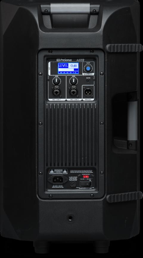 Presonus AIR12 loudspeaker back view