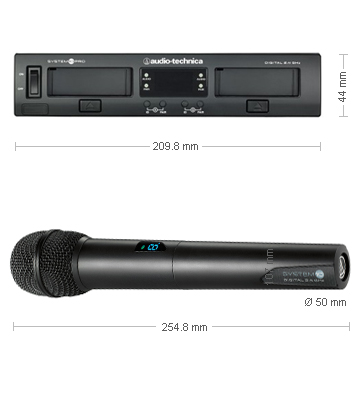 Audio Technica ATW-1302 receiver and microphone measurements